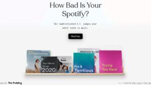 Este bot analiza tu feo gusto musical de Spotify con inteligencia artificial